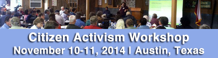 Activism Workshop Nov 2014