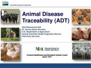 Animal Disease Traceability (ADT)